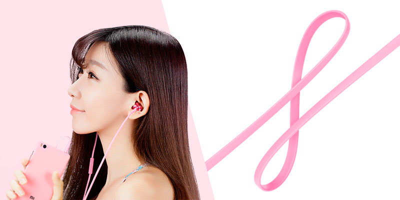 Наушники Xiaomi Piston Fresh (розовый)