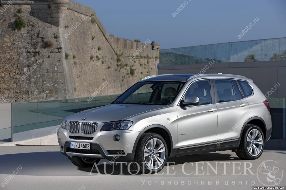 BMW X3 (шумоизоляция дверей, арок)
