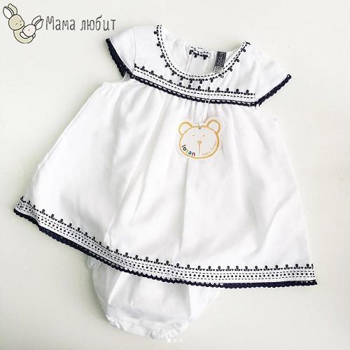 Платье Losan Blue World для девочек купить в интернет-магазине Мама Любит!