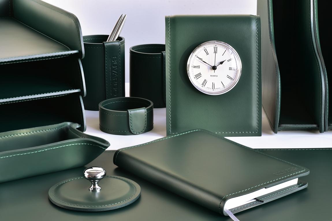набор зеленый на стол в кабинет руководителя