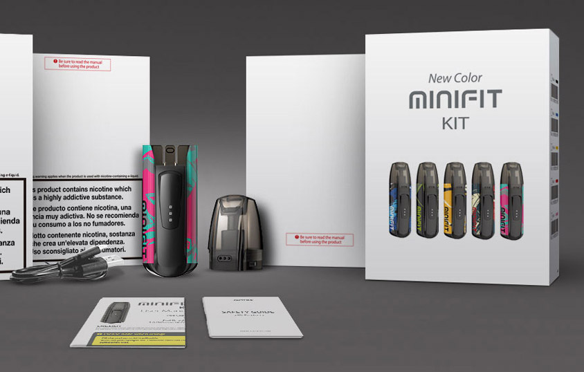 JUSTFOG Minifit Kit - New Colors