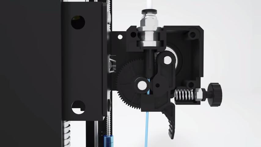 Согласно Anycubic, экструдер на Anycubic Mega-S был модернизирован, чтобы быть более совместимым с гибкими нитями, такими как TPU.