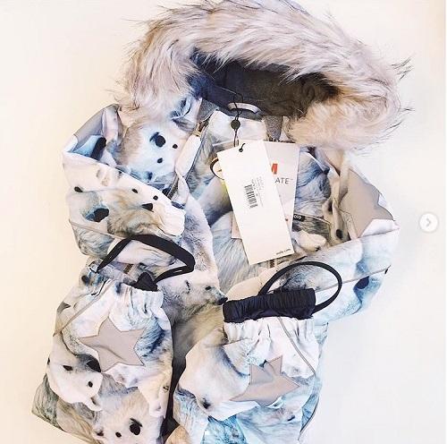 Комбинезон Molo Pyxis Polar Bear Fur купить в интернет-магазине Мама Любит!