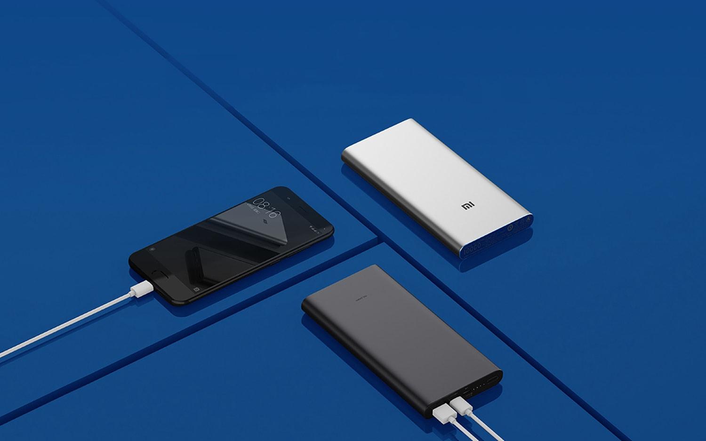 Xiaomi Power Bank 3 2-USB (10000 mAh, серый)