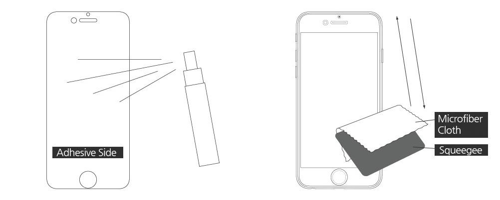 Защитная пленка на весь дисплей iPhone 6 / 6S Spigen Screen Protector Steinheil Flex HD SGP11088