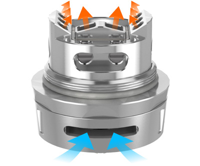 Система воздушного потока GeekVape Ammit Dual Coil RTA