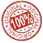 100%  Оригинальная продукция