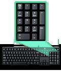 Classic Keyboard K100