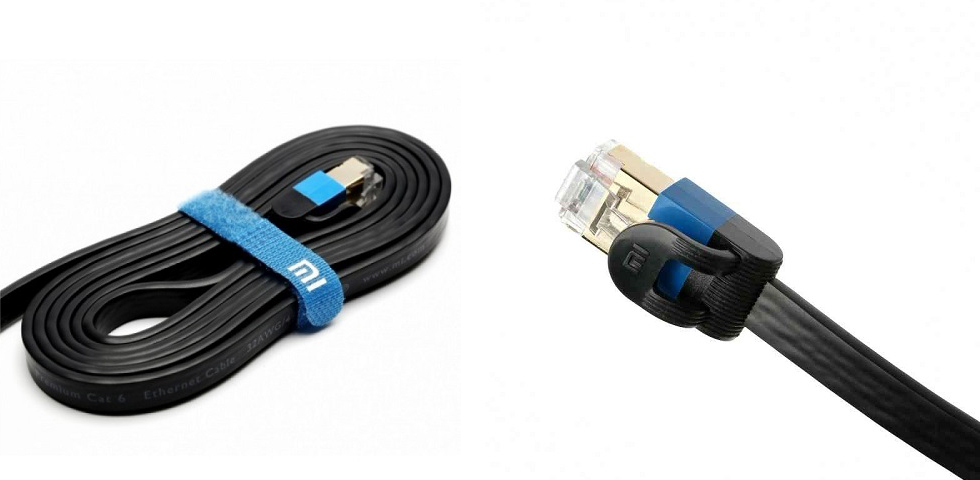 Сетевой кабель Xiaomi Mi Gigabit 1.5 метра