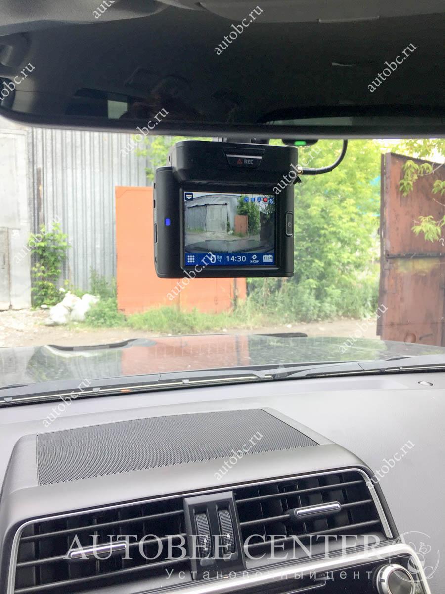 Toyota LC  Prado 150 (разнесенный радар детектор)