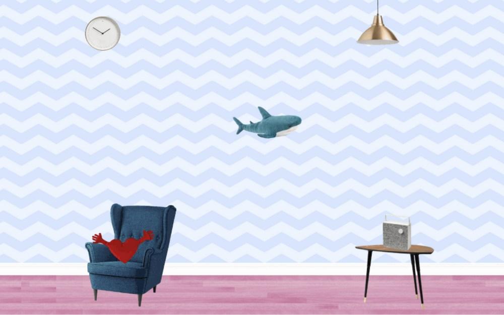 онлайн-игра про плюшевую акулу от IKEA