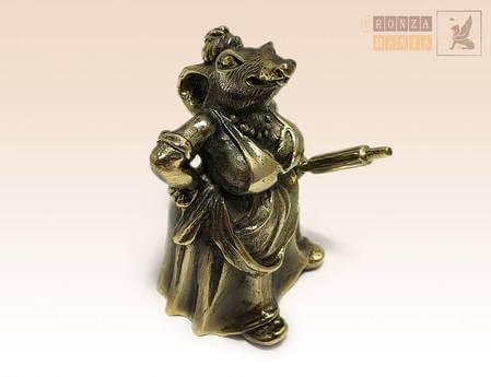колокольчик Крыса со скалкой