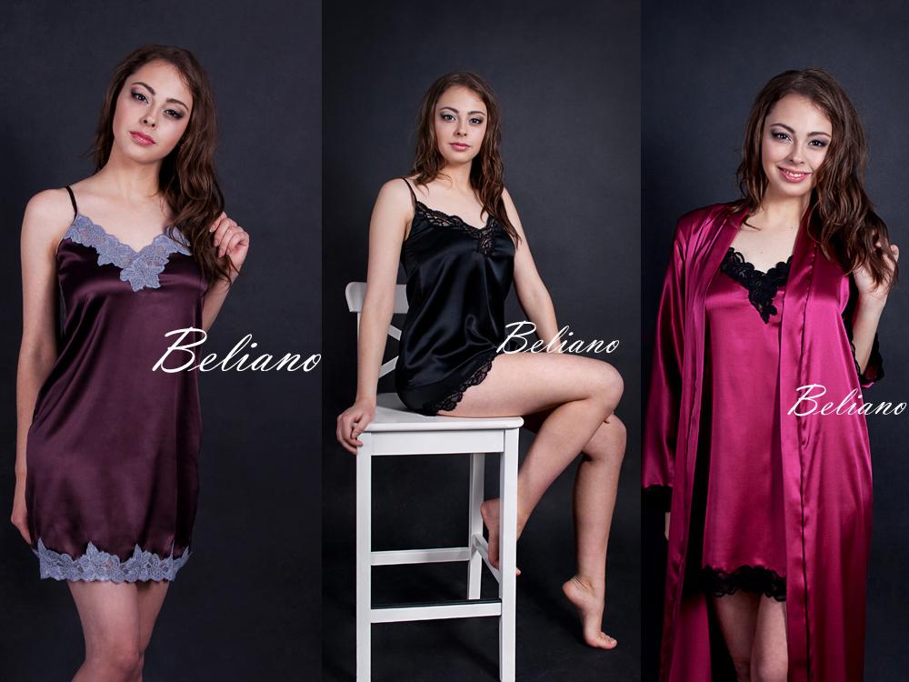 фуксия, черный, шоколадный, ночнушка, халат длинный, пижама, комплект для сна, шелк, шелковая
