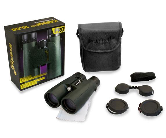 Бинокль Levenhuk Karma Pro 10x50: комплект поставки