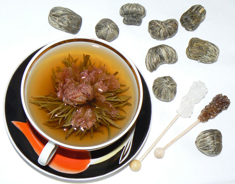 фигуры связанного чая