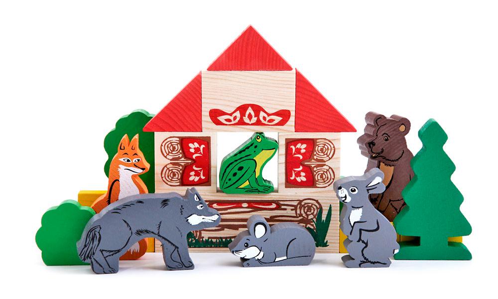 Томик теремок,сказка теремок картинки, томик конструктор деревянный теремок сказка, сказки из дерева, деревянные сказки