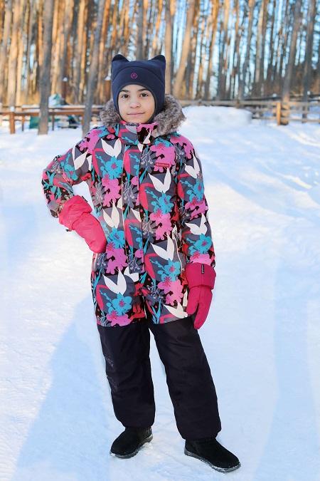 Комбинезон Premont Сад под снегом WP91171 Grey купить в интернет-магазине Premont-shop