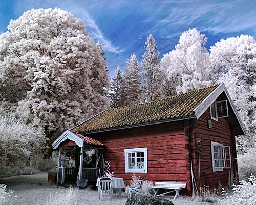 дом обесточен от электричества зимой