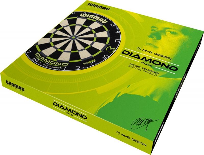Winmau Diamond Plus MvG Design