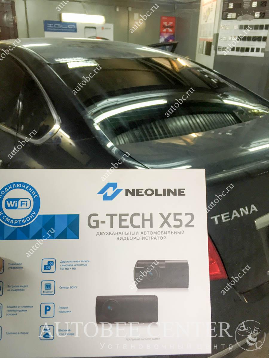 Nissan Teana (установка NeoLine G-TECH X52)