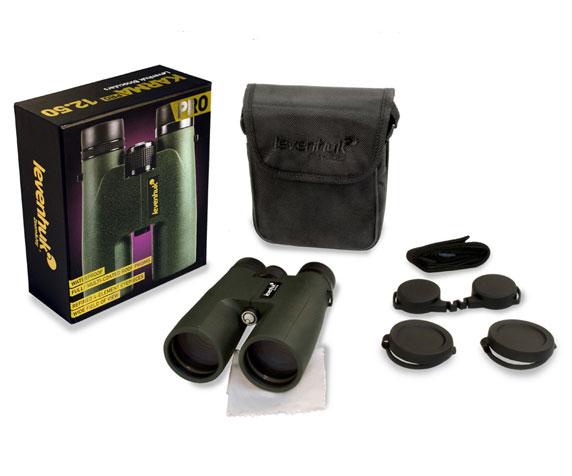 Бинокль Levenhuk Karma Pro 12x50: комплект поставки