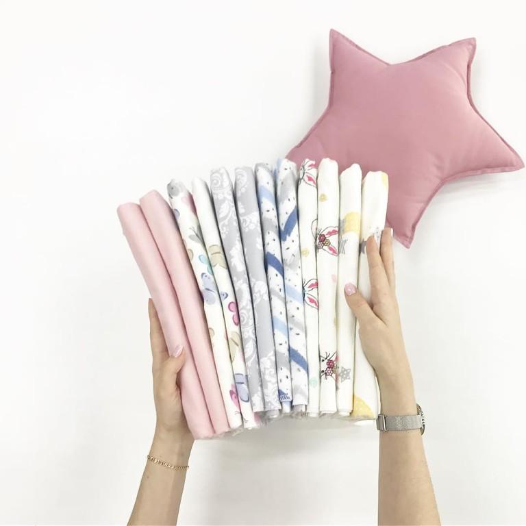 Купить ткань фланель для пошива пеленок новорожденным