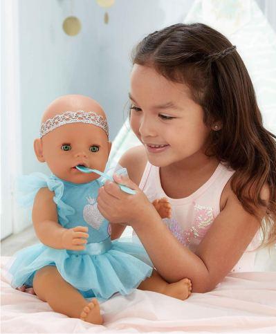 Baby Born интерактивная кукла, зеленые глазки