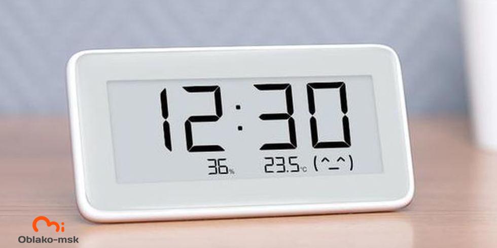 Часы-датчик температуры и влажности Xiaomi Mijia Temperature And Humidity Electronic Watch