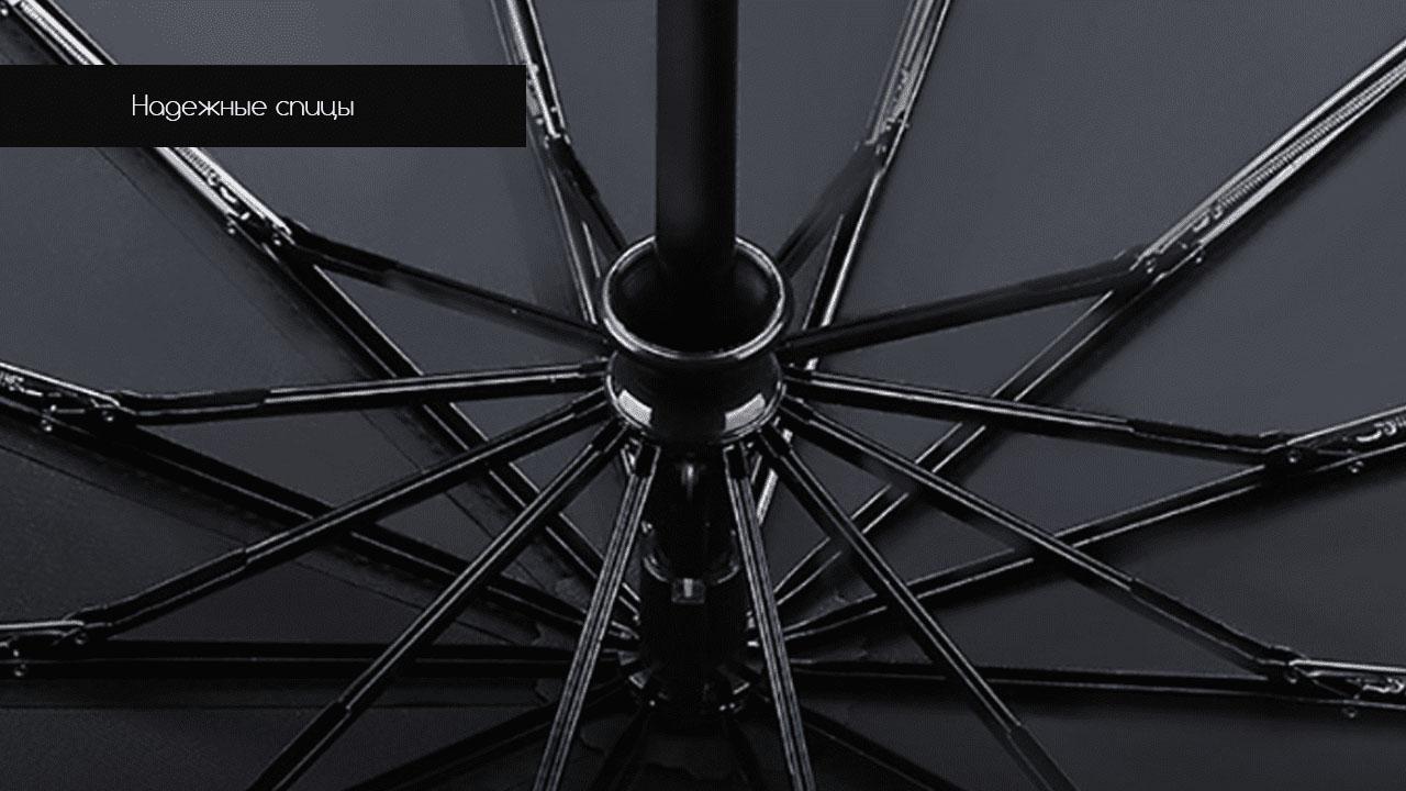 Представительский складной зонт зеленый   ZC Apolo Premium