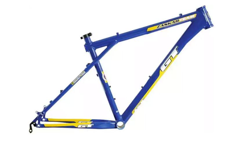 Геометрия велосипедной рамы из трех треугольников