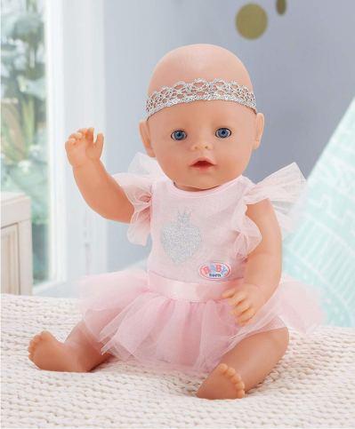 Baby Born интерактивная кукла с голубыми глазками