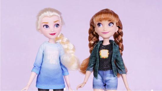 Куклы Эльза и Анна - набор Ральф против интернета