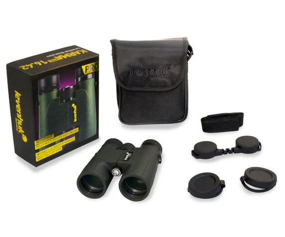 Бинокль Levenhuk Karma Pro 16x42: комплект поставки