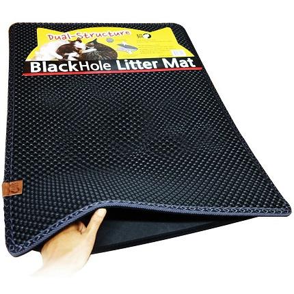 Коврик  BHLM черный большой