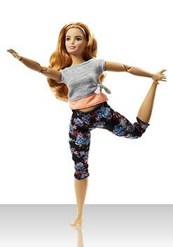 Барби Йога (кудри)