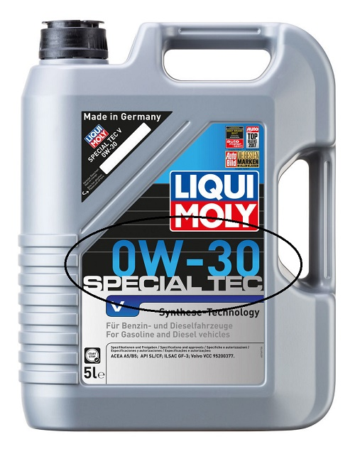 Special Tec V 0W-30 для VOLVO