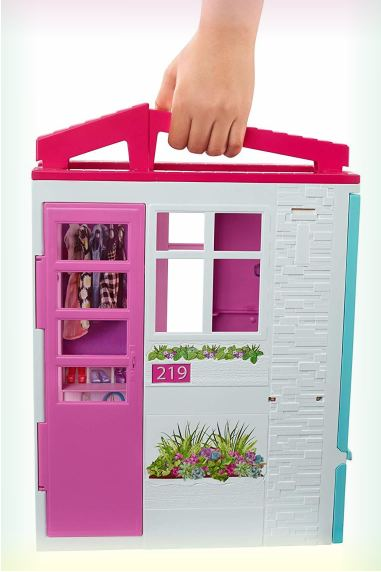 Портативный Barbie Doll House Playset