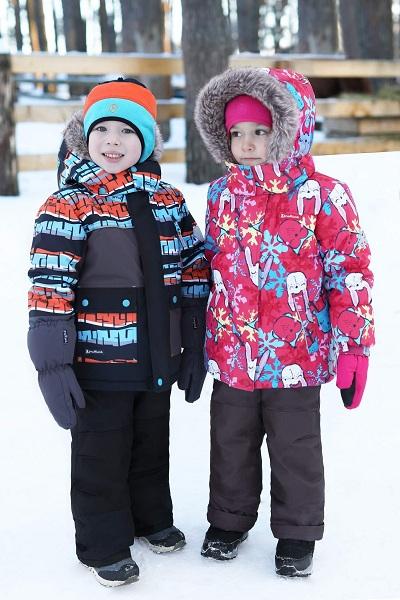 Комплекты Premont Зима 2019 для мальчиков и девочек в интернет-магазине Premont-shop