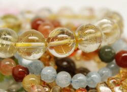 браслеты из разного кварца