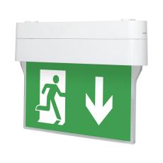 Двухсторонний указатель для аварийного эвакуационного освещения Nashi S