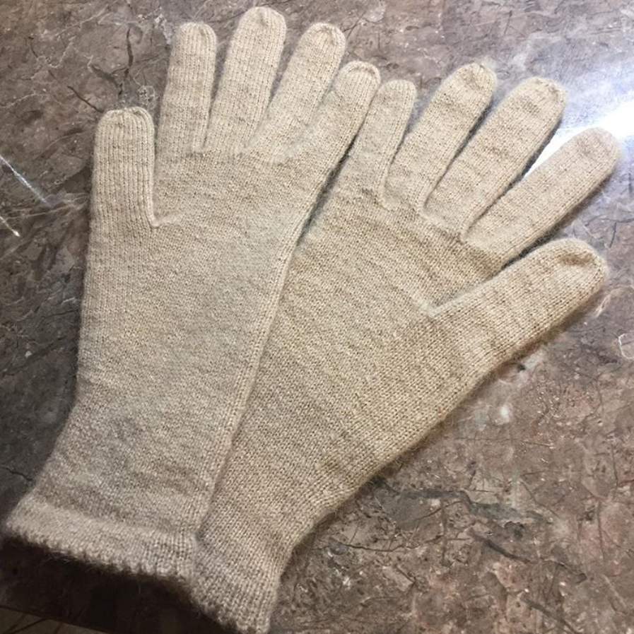 перчатки из верблюжьего пуха sarlag