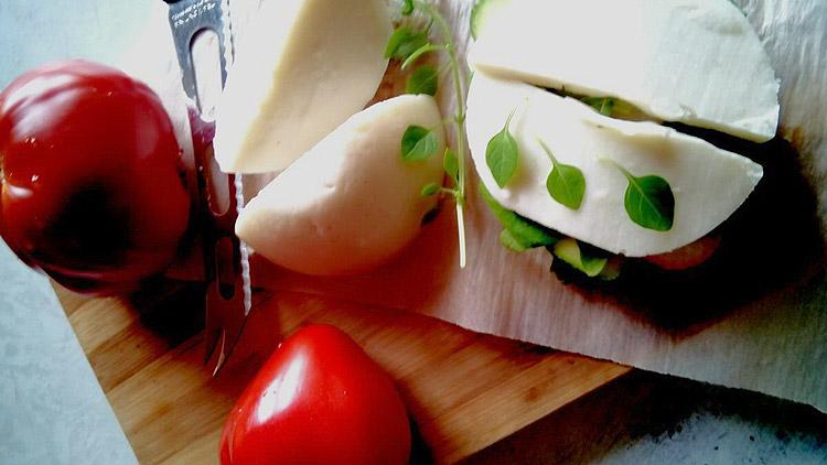 Веганский сыр. Автор фото - Марина Фролова, повар И-МНЕ Москва