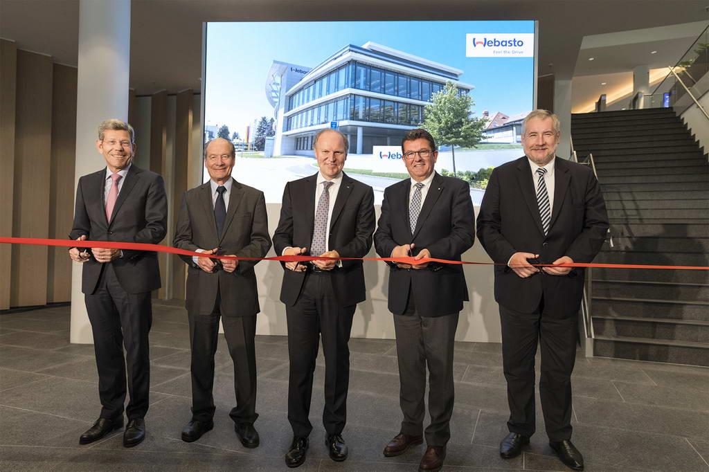 Webasto открывает новую штаб-квартиру в Стокдорфе