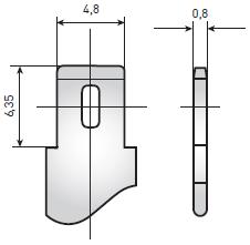 Аккумуляторы для ИБП Delta HR – клеммы «Нож F1»