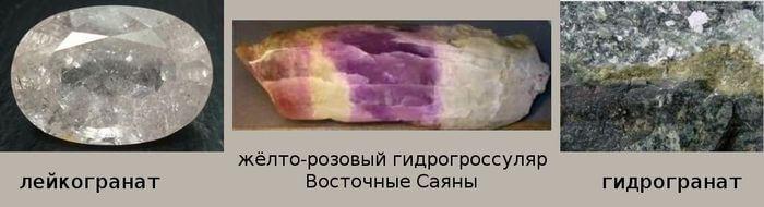 бесцветный гранат