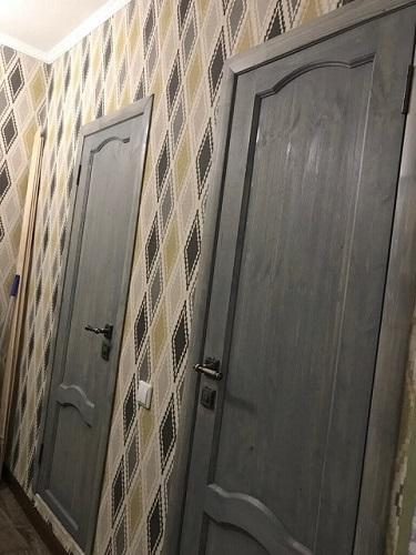 Дверь под маслом