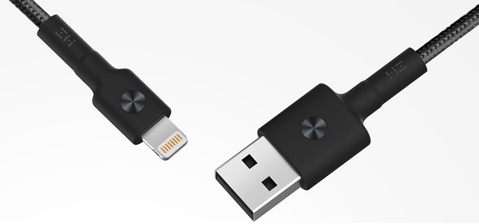 Кабель USB/Lightning Xiaomi ZMI MFi 100 см