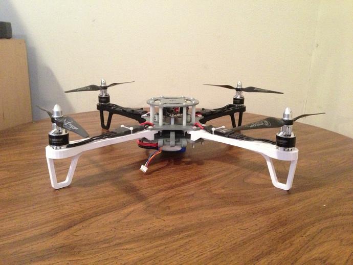квадрокоптер дрон модель для 3д принтера
