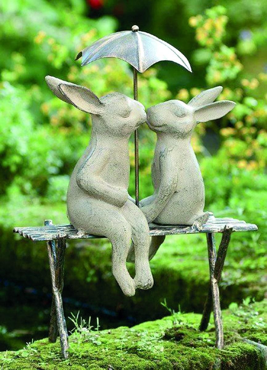 Лучшие садовые украшения и декоративные фигурки
