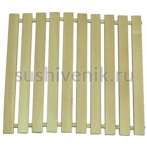 деревянный коврик для бани